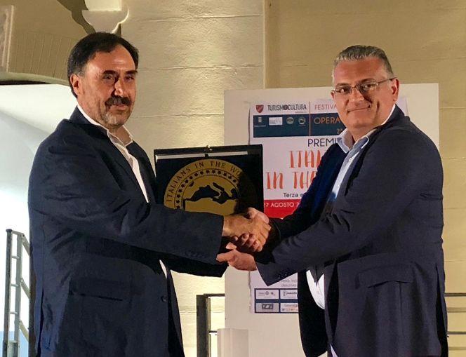 Consegnato, a Venafro, il premio dell'associazione sannita Italians in the World