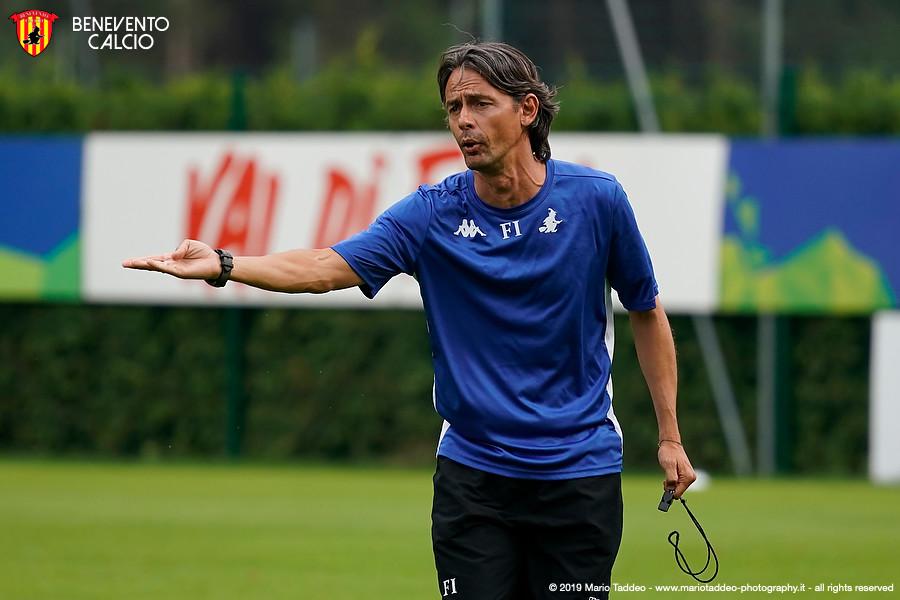 """Inzaghi: """"con grande entusiasmo ma con i piedi per terra"""""""