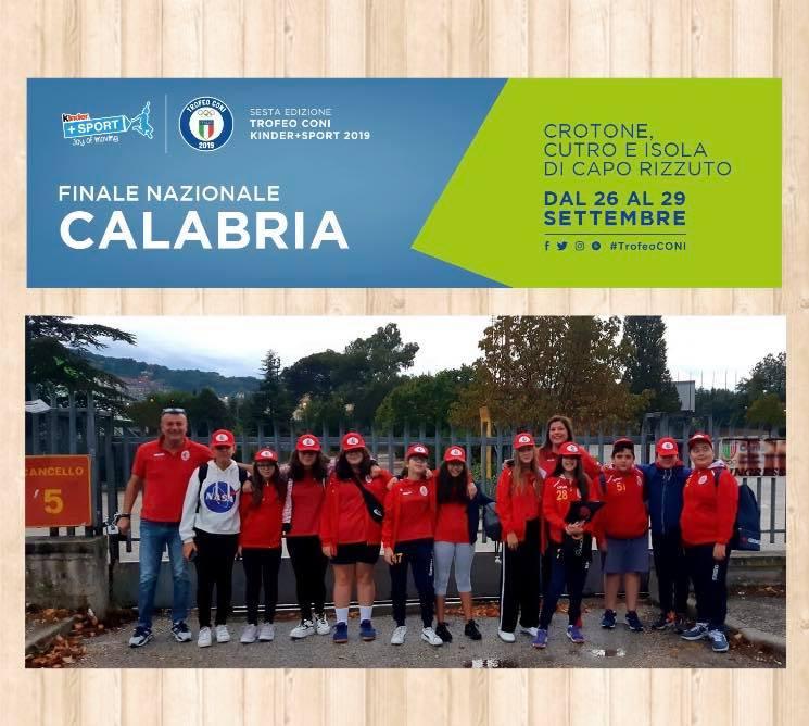 La Pallamano Benevento rappresenta la Campania al trofeo Coni Kinder+sport 2019 in Calabria