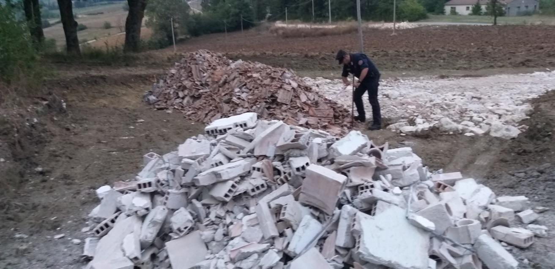 Castelpagano, sequestro dei forestali per gestione illecita di rifiuti