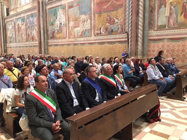 Concluso ad Assisi il Pellegrinaggio del Treno Storico