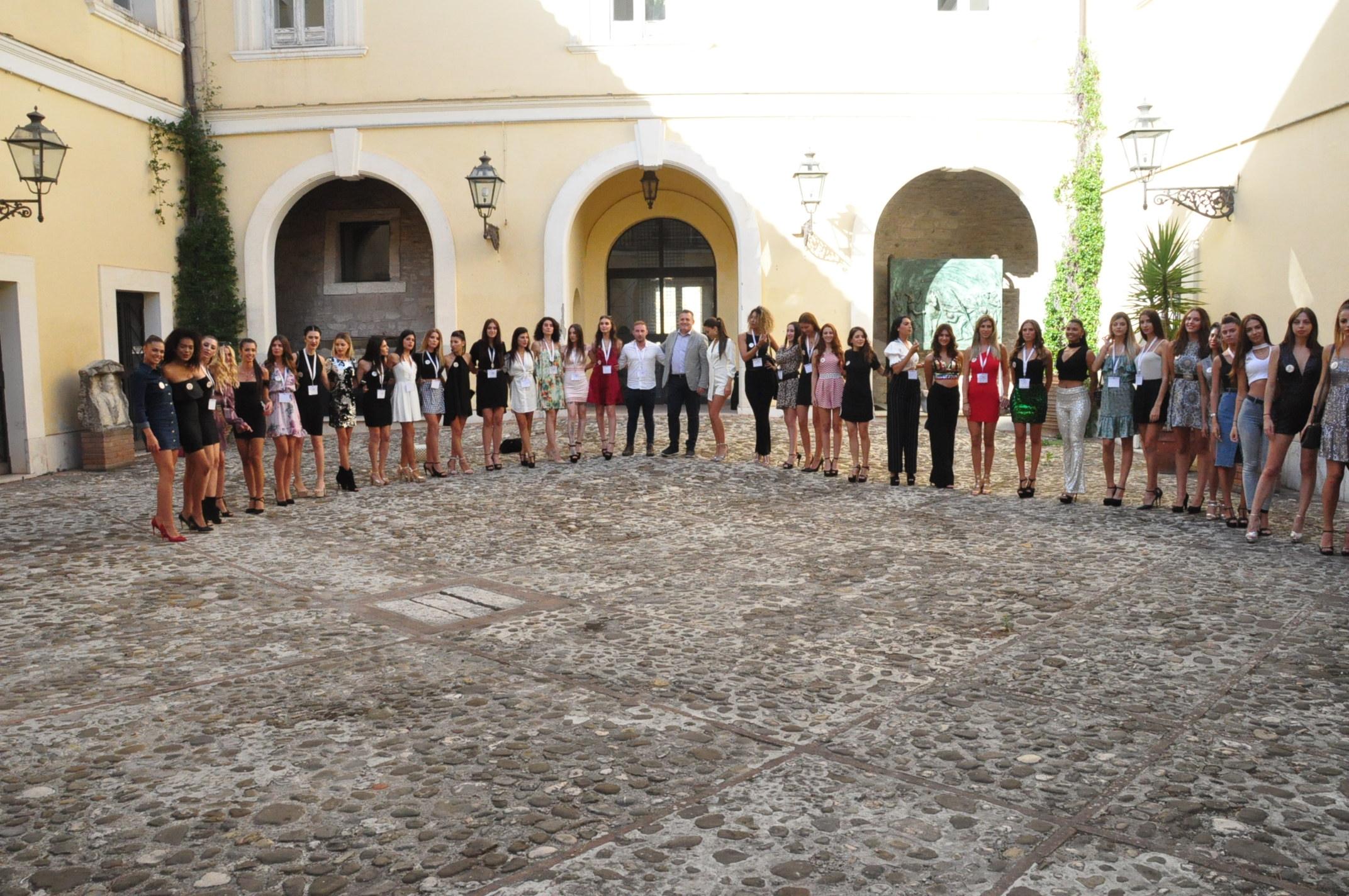 Le finaliste di 'Miss Grand International' alla Rocca. Oggi la finale sul canale 180 di Sky