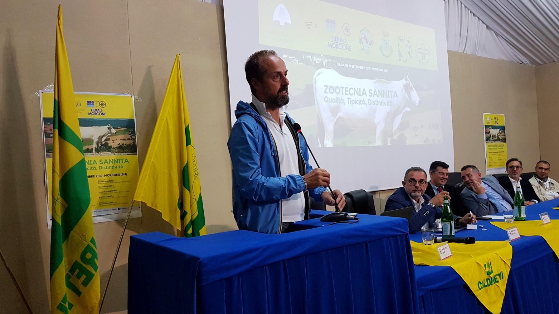 Zootecnica, Coldiretti a Morcone focus sul comparto nel Sannio. Stop a fake news sulla carne