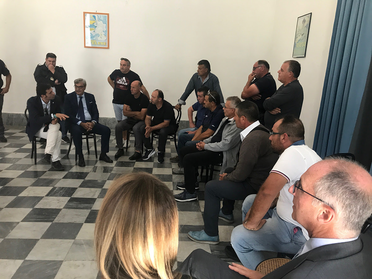 Telese: incontro tra Mortaruolo, i rappresentanti sindacali e i lavoratori della Samte