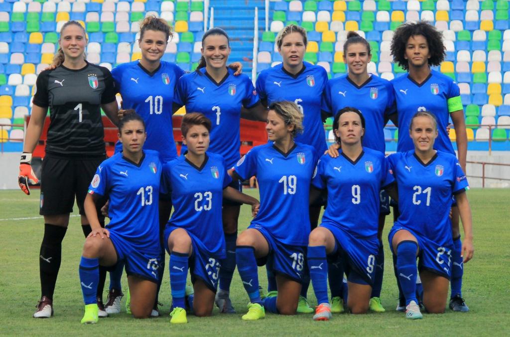 L'Italia femminile venerdì 8 novembre affronterà la Georgia al Vigorito per le qualificazioni agli europei