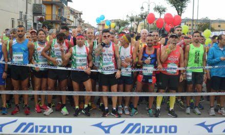 """Tre record hanno caratterizzato la quinta edizione della """"Telesia Half Marathon"""" a Telese Terme"""