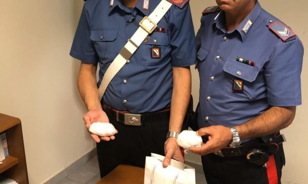 Benevento, pusher arrestato con 165 grammi di cocaina