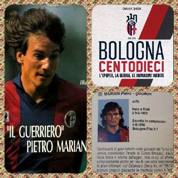 Ennesimo riconoscimento per l'ex capitano giallorosso Pedro Mariani. E' stato inserito anche nel prestigioso museo dei 110 anni del Bologna