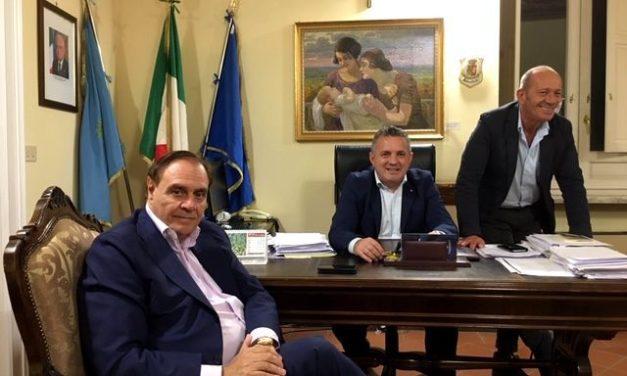 Mastella e Di Maria inRegione per discutere della rappresentanza del Sannio alla Camera dei deputati e in Senato