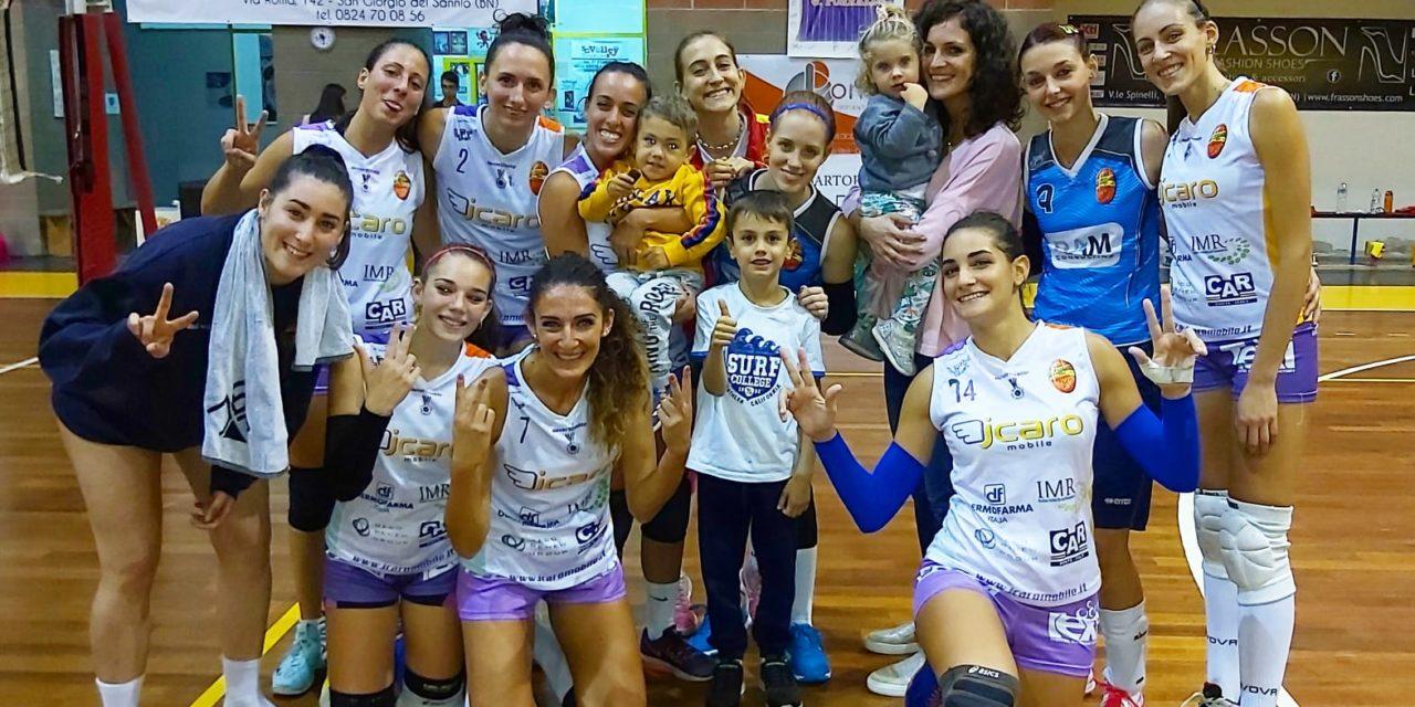 Volley femminile, la Volare domani in campo in Abruzzo. Tour de force per l'Accademia