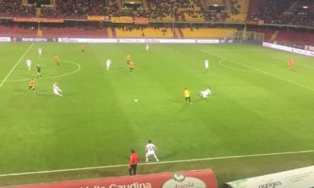Il Benevento ritorna alla vittoria con Coda ed Improta, resta al comando solitario e cancella la debacle di Pescara