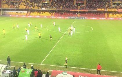 La curiosità, il Benevento unica squadra della serie B che finora non ha avuto rigori a favore