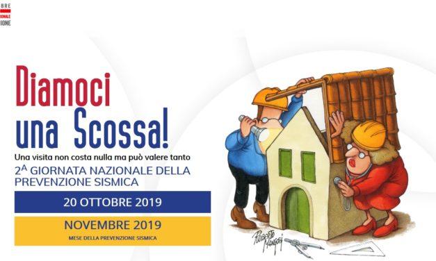 Diamoci una scossa, il 20 ottobre ingegneri e architetti nelle piazze del Sannio per la Giornata della Prevenzione Sismica