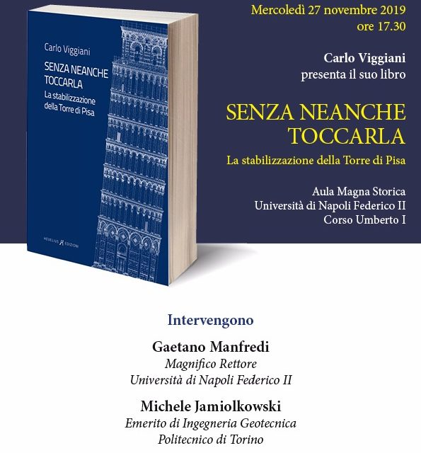 La casa editrice sannita 'Hevelius' presenta, a Napoli il 27 novembre, il nuovo libro di Carlo Viggiani