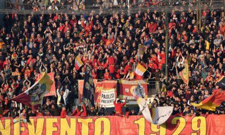 Al via la prevendita per la gara Benevento-Perugia di sabato 19 ottobre