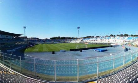 L'intera curva sud dell'Adriatico di Pescara riservata ai tifosi giallorossi. Previsto un esodo di massa