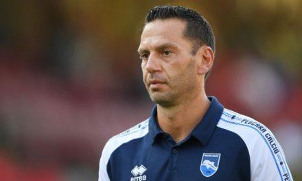 """Qui Pescara – Zauri contro i giallorossi potrebbe passare di nuovo alla difesa a quattro. Fiorillo: """"Sono preoccupato"""""""
