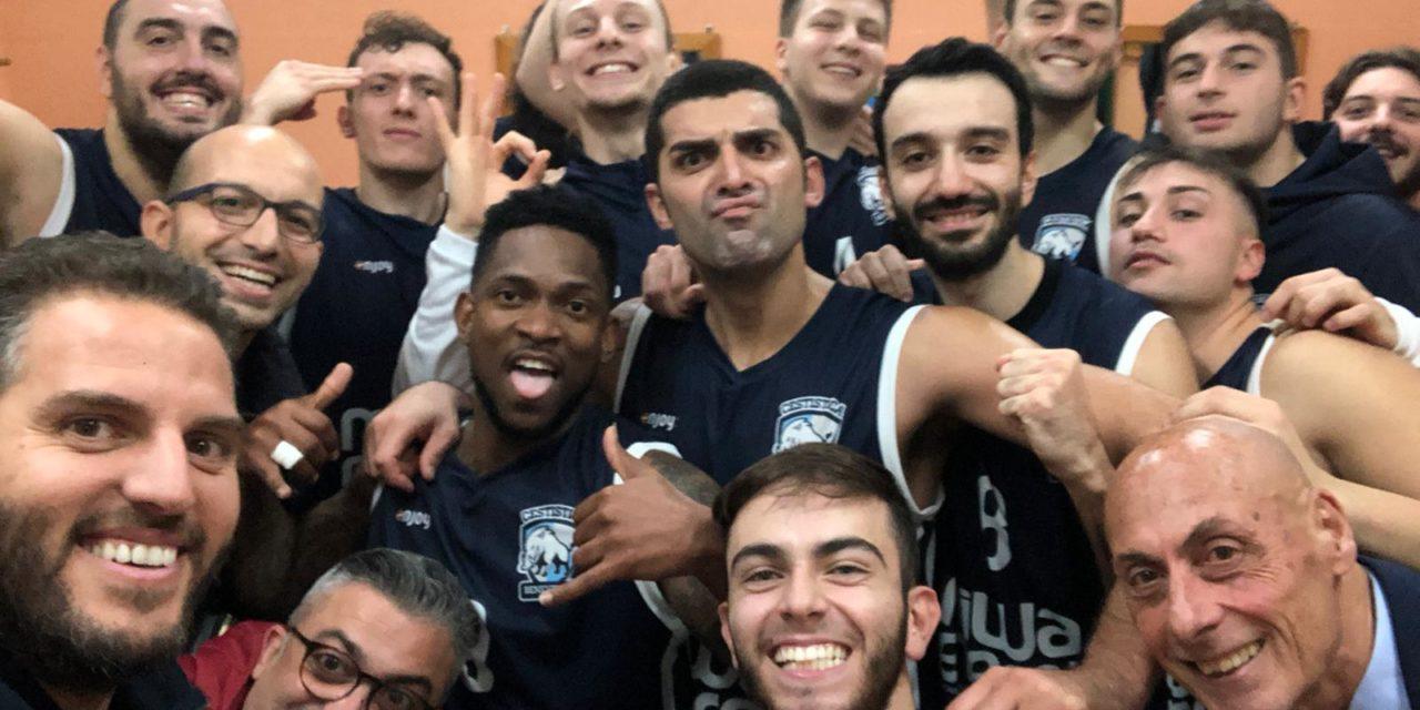 La Miwa Energia Cestistica Benevento chiude il girone d'andata senza sconfitte ed in fuga solitaria