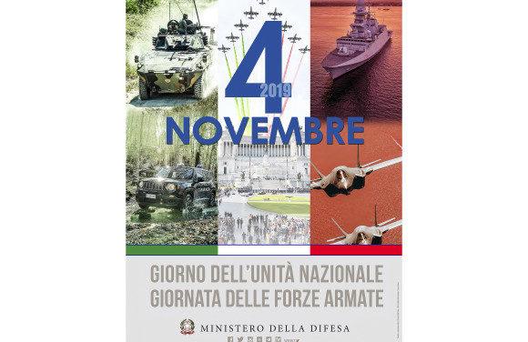 Domani celebrazione della Festa dell'Unità Nazionale e delle Forze Armate