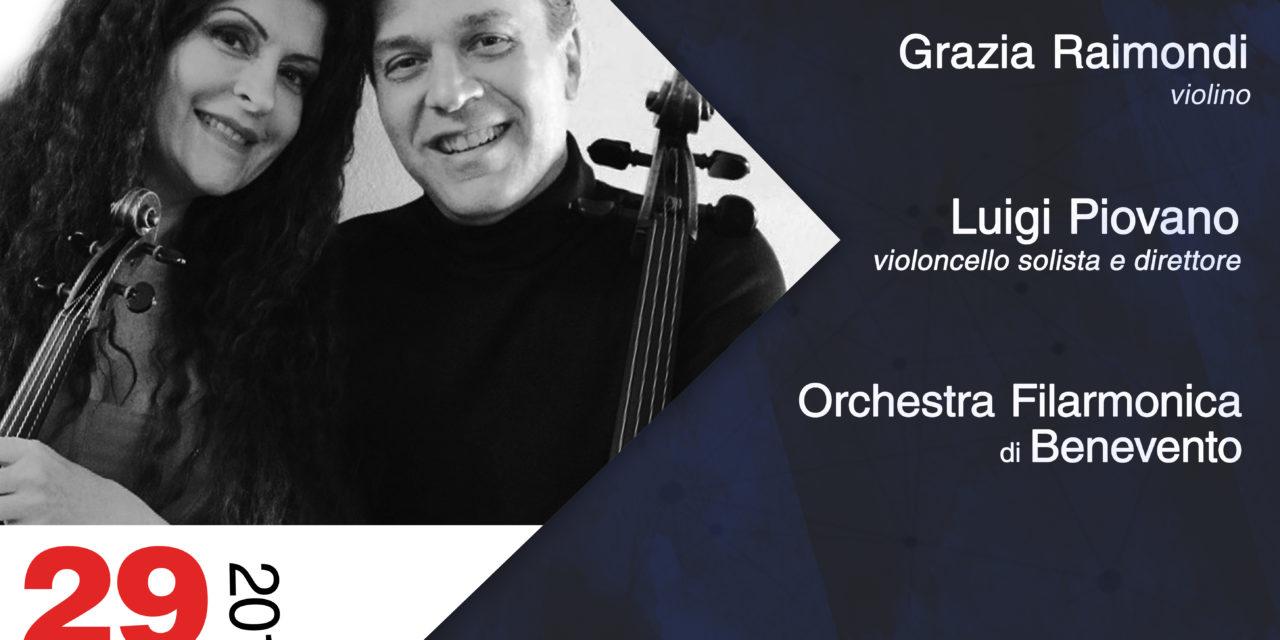L'Orchestra Filarmonica di Benevento chiude la sua V stagione concertistica ad Avellino con due solisti d'eccezione