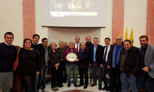 Premio Cerro D'Oro, vince l'azienda agricola Masseria Frangiosa di Torrecuso