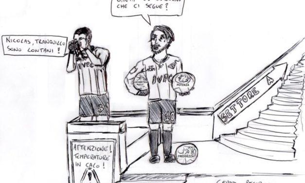 La vignetta della settimana è un sacrosanto omaggio a Nicolas Viola