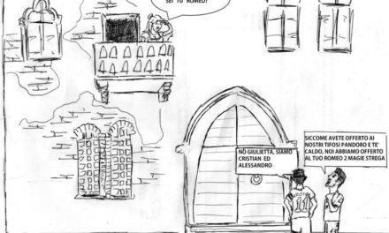 La vignetta della settimana sul… derby tra torrone e panettone…