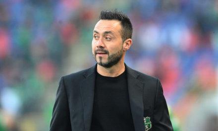 """De Zerbi: """"Benevento è rimasta nel mio cuore. Giovedì sarò in tribuna al Bentegodi per la sfida col Chievo"""""""