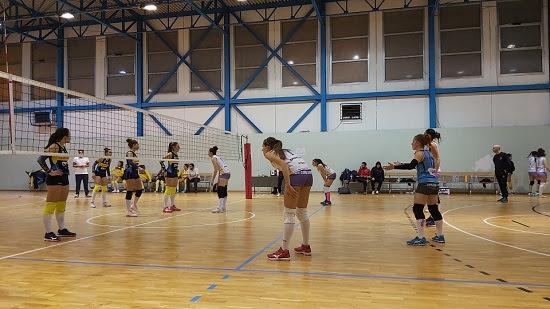 L'Accademia Volley chiude il girone d'andata con il successo a Volla e consolida il terzo posto