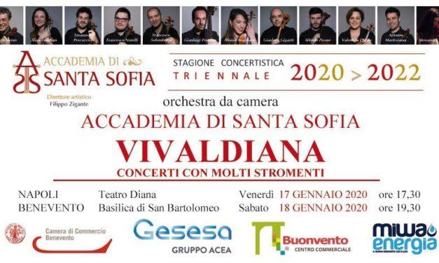 Accademia di Santa Sofia, domani via della nuova stagione concertistica