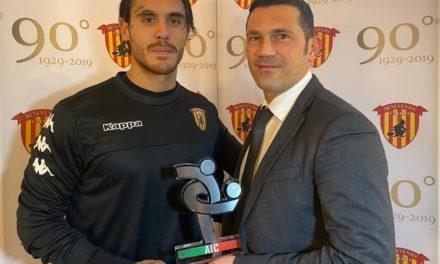 Anche l'Associazione Calciatori sancisce con un premio la straordinaria annata di Nicolas Viola