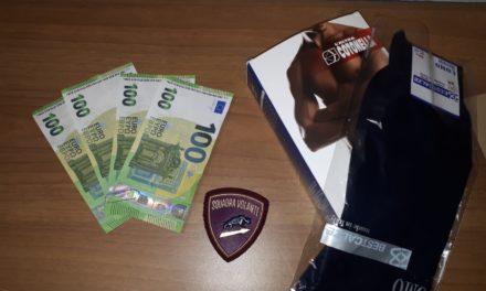 Acquisti con banconote false: arrestato 36enne della provincia di Salerno