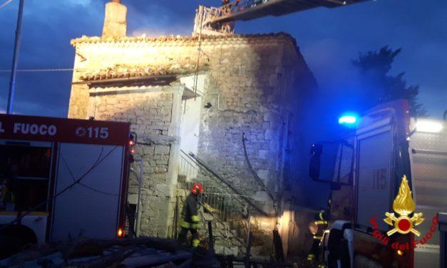 Santa Croce del Sannio, anziano tratto in salvo dai vigili del fuoco