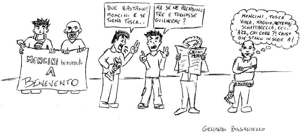 La vignetta della settimana dedicata al mercato dei giallorossi