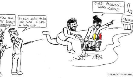 La vignetta giallorossa della settimana di Passariello