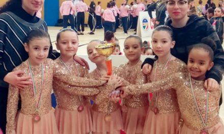 Orgoglio sannita: le piccole ginnaste vincono il Campionato Regionale di Ginnastica Ritmica