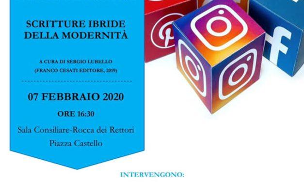 Si presenta domani, alla Rocca di Benevento, il volume 'Homo scribens 2.0'