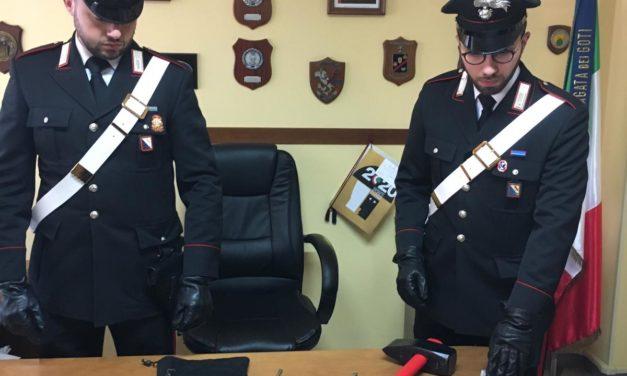 Valle Caudina, banda di ladri messa in fuga dai carabinieri