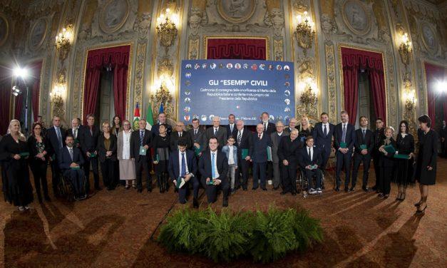 Impegno nella solidarietà, cultura e nella tutela dei minori, il Presidente Mattarella ha premiato Matassino
