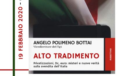 Questo pomeriggio, alla Fondazione Gerardino Romano di Telese, incontro con il politologo Bottai