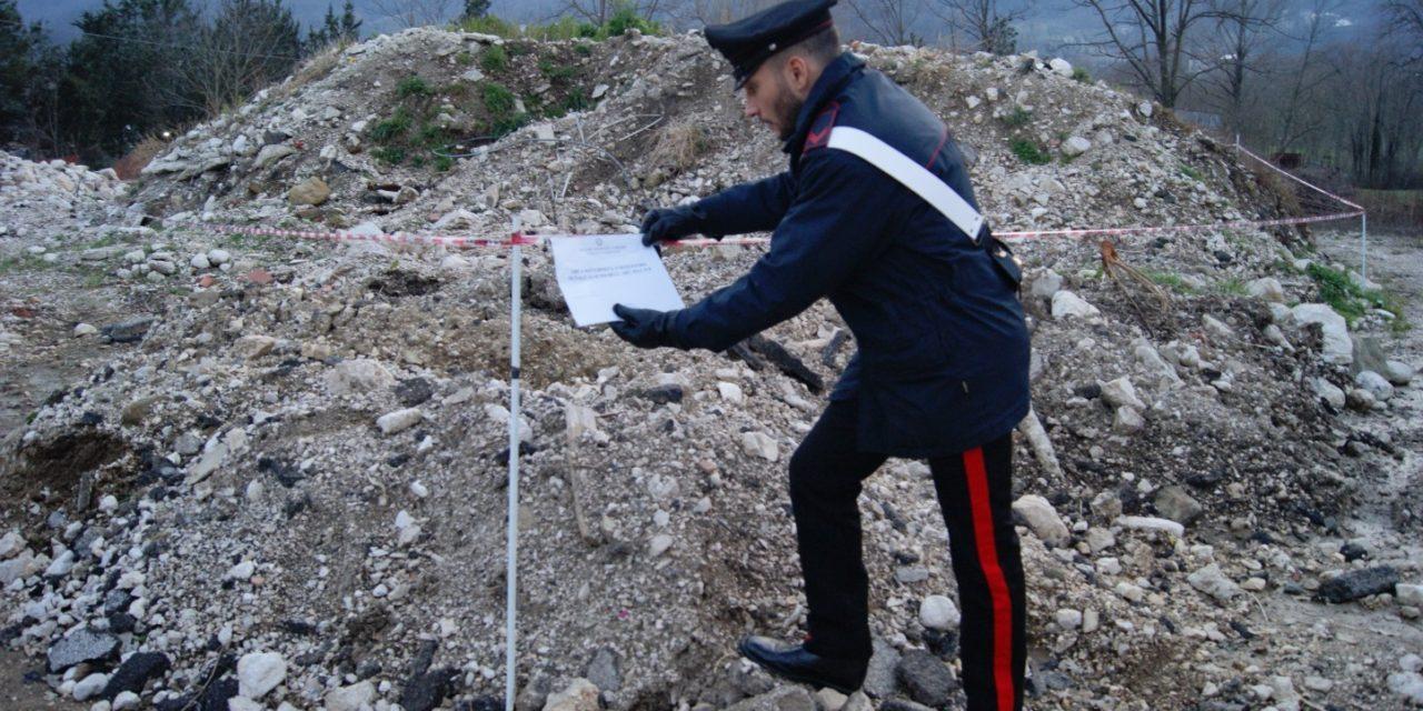 Causano Mutri, denunciati due 70enni per reati ambientali