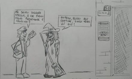 La vignetta giallorossa della settimana sull'abissale vantaggio rispetto alle inseguitrici