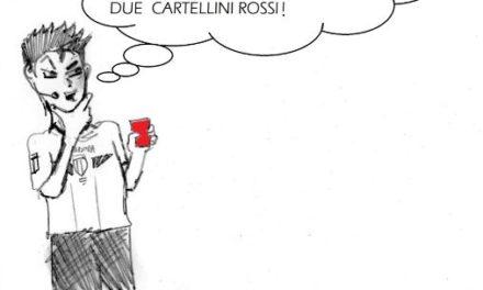 La vignetta giallorossa della settimana dedicata agli arbitraggi