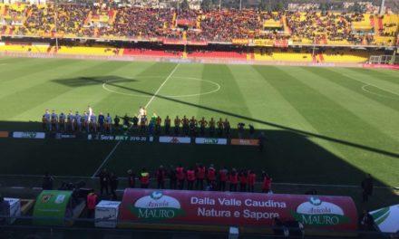 Il Benevento torna a vincere al Vigorito e si avvicina ancora di più alla serie A