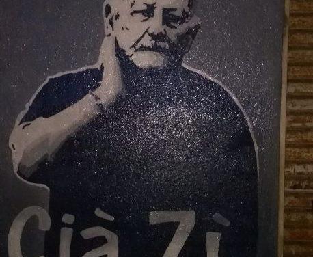 A piazza San Modesto realizzato un murales per ricordare Gaetano Allegretti