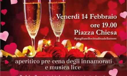 San Valentino, a Puglianello si celebra l'amore con eventi e luminarie