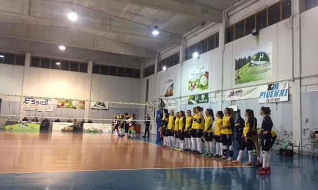Volley femminile, l'Olimpia S. Salvatore grazie al successo contro Oria blinda il terzo posto
