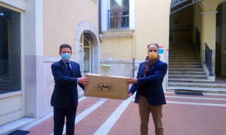 Mastella ha donato mascherine ai medici di famiglia di Benevento