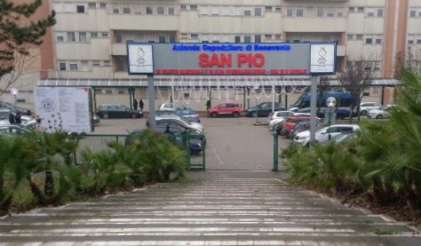 Ospedale San Pio di Benevento, bollettino del 10 maggio