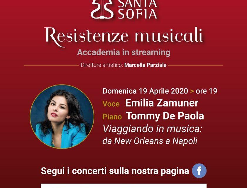 'Resistenze Musicali', domenica nuovo appuntamento con il concerto jazz di Emilia Zamuner